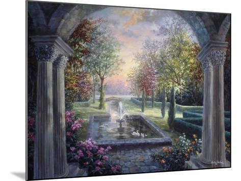 Soulful Mediterranean Tranquility-Nicky Boehme-Mounted Giclee Print