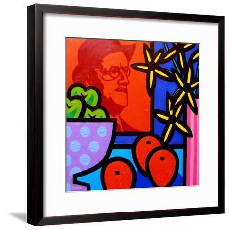 Still Life with James Joyce-John Nolan-Framed Art Print