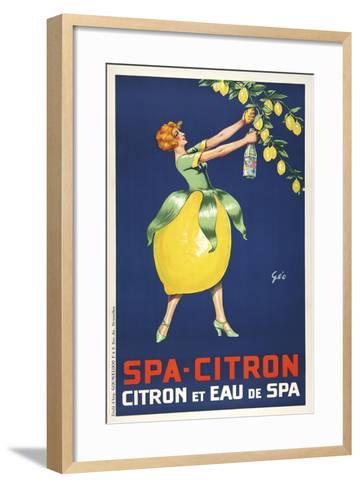 Spa Citron--Framed Art Print
