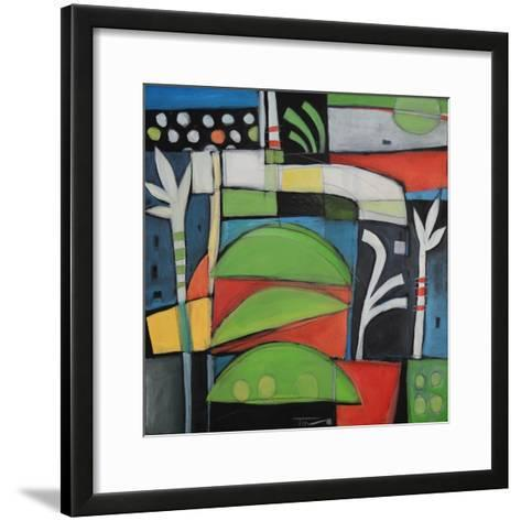 Still Life with Lime Wedges-Tim Nyberg-Framed Art Print