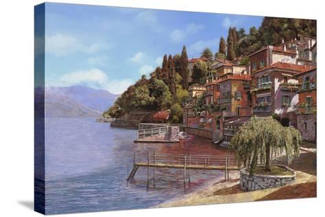 Varenna on Lake Como-Guido Borelli-Stretched Canvas Print