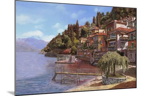 Varenna on Lake Como-Guido Borelli-Mounted Giclee Print
