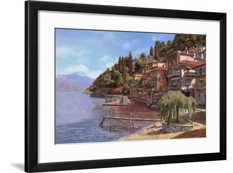 Varenna on Lake Como-Guido Borelli-Framed Art Print