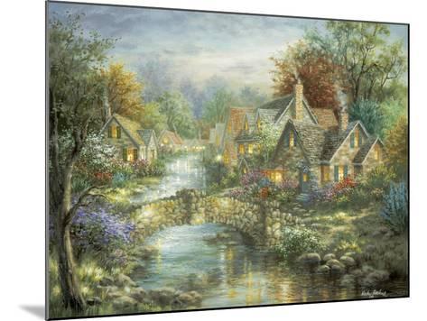 Stonehedge Bridge-Nicky Boehme-Mounted Giclee Print