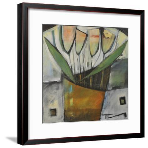 Tulips in Terracotta-Tim Nyberg-Framed Art Print