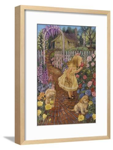 Stop and Smell the Roses-Tricia Reilly-Matthews-Framed Art Print