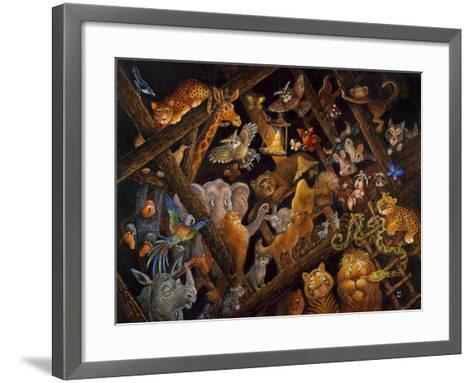 Stormy Night-Bill Bell-Framed Art Print