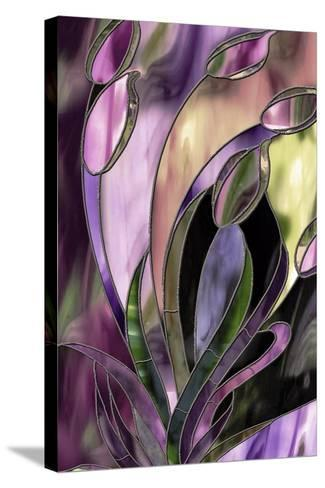 Swaying Glass-Mindy Sommers-Stretched Canvas Print