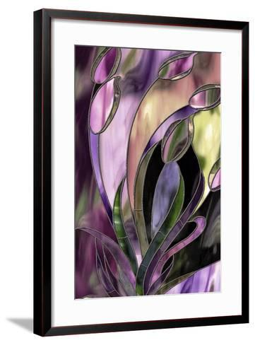 Swaying Glass-Mindy Sommers-Framed Art Print
