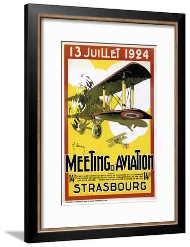 Strasbourg Aviation--Framed Art Print