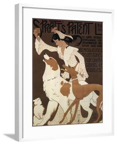 Spratts Dogs--Framed Art Print