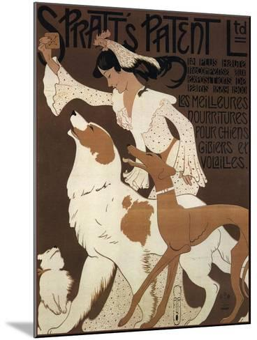 Spratts Dogs--Mounted Giclee Print