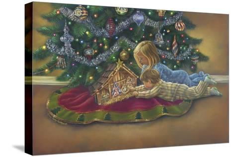 The Heart of Christmas-Tricia Reilly-Matthews-Stretched Canvas Print