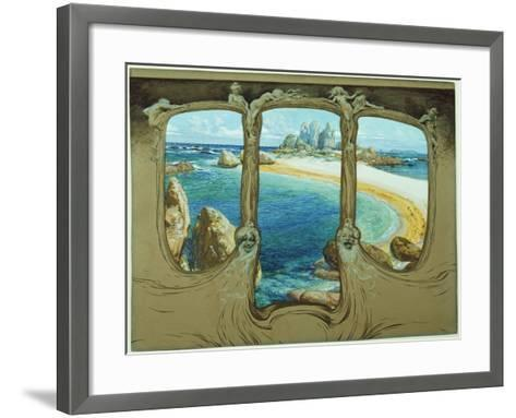 View from a Carriage Window-Frantisek Kupka-Framed Art Print