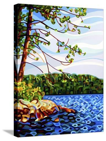 View from Mazengah-Mandy Budan-Stretched Canvas Print