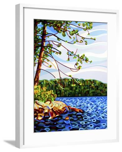 View from Mazengah-Mandy Budan-Framed Art Print