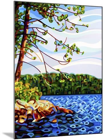 View from Mazengah-Mandy Budan-Mounted Giclee Print