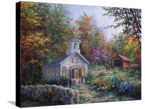 Worship in the Country-Nicky Boehme-Stretched Canvas Print