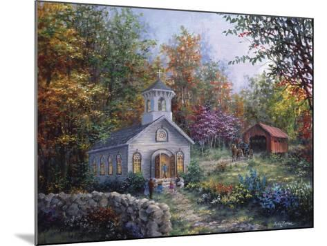 Worship in the Country-Nicky Boehme-Mounted Giclee Print