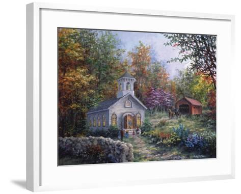 Worship in the Country-Nicky Boehme-Framed Art Print