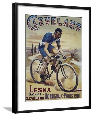 Vintage Bicycle--Framed Art Print