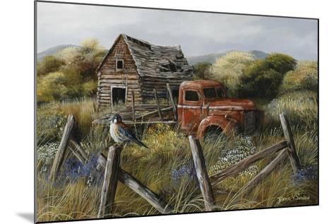 Well Worn Perch-Trevor V. Swanson-Mounted Giclee Print