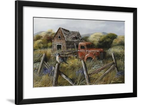 Well Worn Perch-Trevor V. Swanson-Framed Art Print