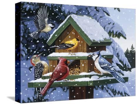 Winter Feast-William Vanderdasson-Stretched Canvas Print