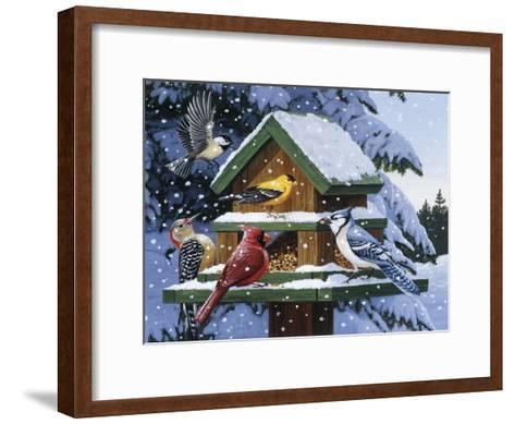 Winter Feast-William Vanderdasson-Framed Art Print