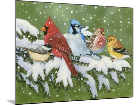 Winter Friends-William Vanderdasson-Mounted Giclee Print