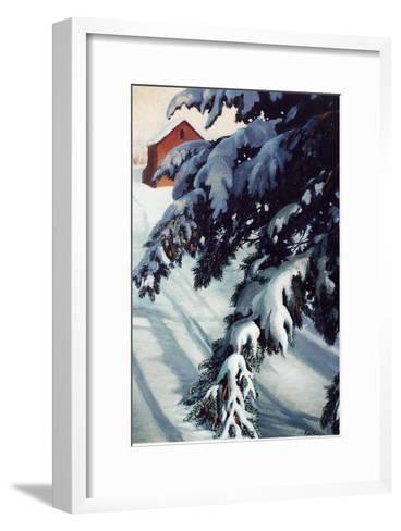 Winter Light-Kevin Dodds-Framed Art Print