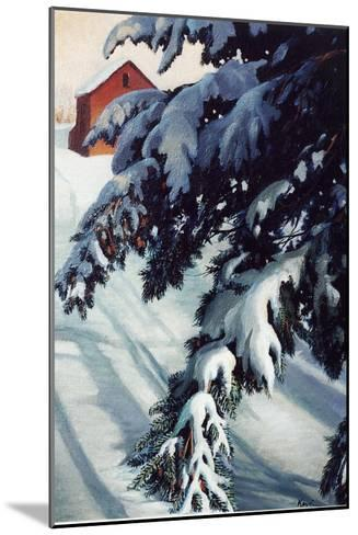 Winter Light-Kevin Dodds-Mounted Giclee Print
