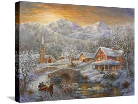 Winter Merriment-Nicky Boehme-Stretched Canvas Print