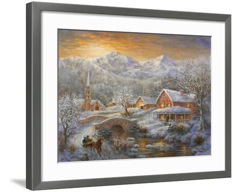 Winter Merriment-Nicky Boehme-Framed Art Print
