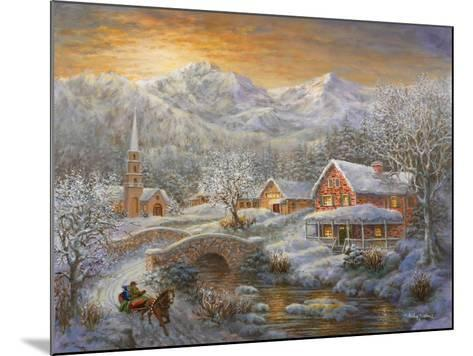 Winter Merriment-Nicky Boehme-Mounted Giclee Print
