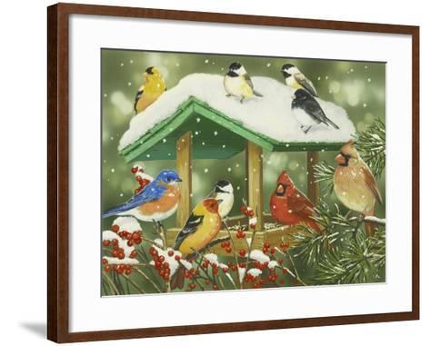 Winter Treats-William Vanderdasson-Framed Art Print