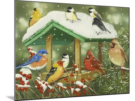 Winter Treats-William Vanderdasson-Mounted Giclee Print