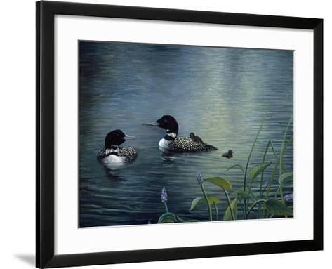 Virginias Loons-Kevin Dodds-Framed Art Print