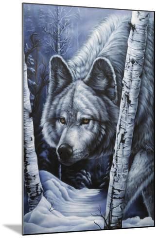 White Wolf-Jenny Newland-Mounted Giclee Print