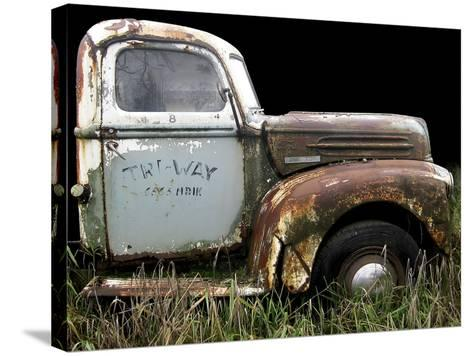 1947 Ford 1 Ton-Larry Hunter-Stretched Canvas Print
