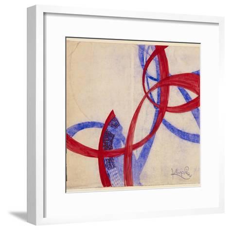 Amorpha Fugue in Two Colors II-Frantisek Kupka-Framed Art Print