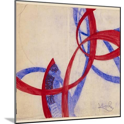 Amorpha Fugue in Two Colors II-Frantisek Kupka-Mounted Giclee Print