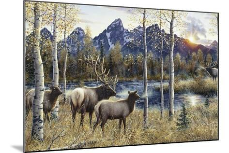 Autumn Rival-Jeff Tift-Mounted Giclee Print