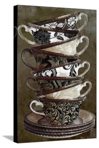 Afternoon Tea II--Stretched Canvas Print