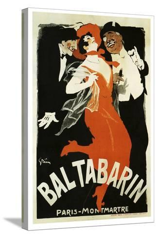 Bal Tabarin 1904--Stretched Canvas Print