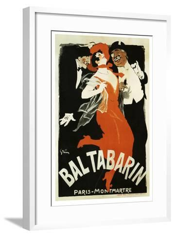Bal Tabarin 1904--Framed Art Print