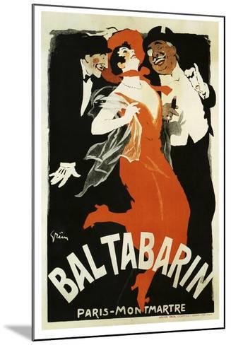 Bal Tabarin 1904--Mounted Giclee Print