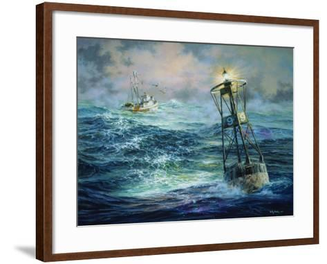 Almost Home-Nicky Boehme-Framed Art Print