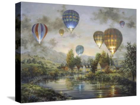 Balloon Glow-Nicky Boehme-Stretched Canvas Print