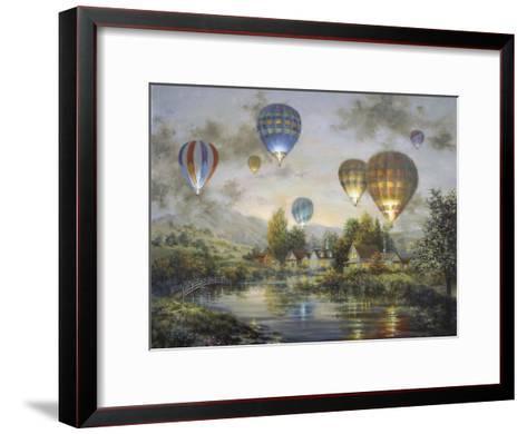 Balloon Glow-Nicky Boehme-Framed Art Print